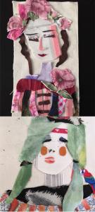 kindercoach creatief gouda HSP hooggevoeligheid faalangst collage van stof